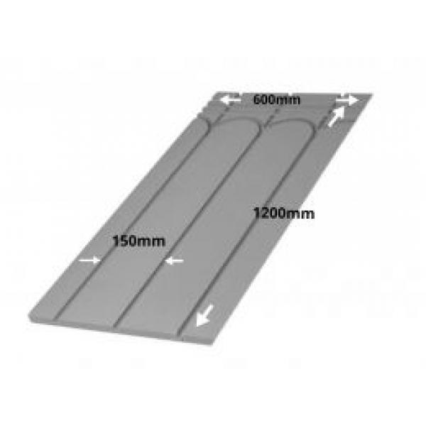 Tile Direct Insulated Panel System - 1200mm x 600mm x 18mm (4 Grooves @ 150mm)