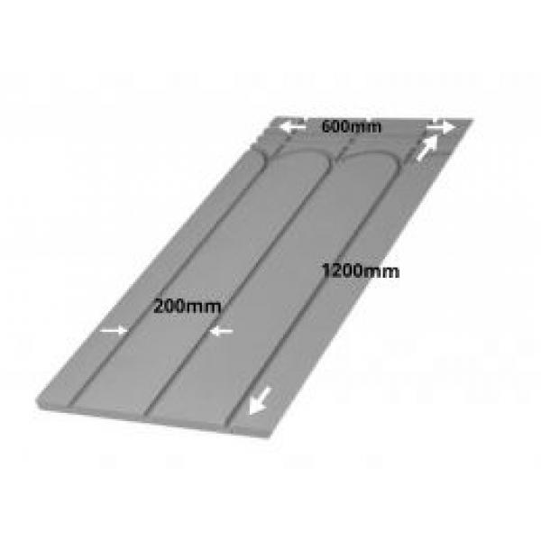 Tile Direct Insulated Panel System - 1200mm x 600mm x 25mm (3 Grooves @ 200mm)