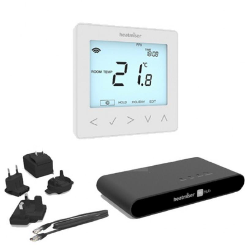 Heatmiser App Controlled Wireless neoAir Kit (inc. 1x NeoHub, 1x neoAir thermostat)  +£288.00