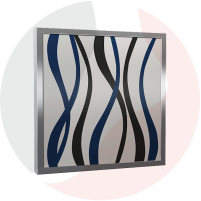 Printed Glass Heating Panel